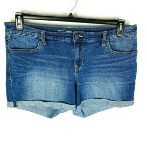 Old Navy Womens The Semifitted Denim Cuffed Shorts